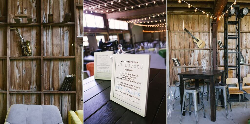 rustic barn event