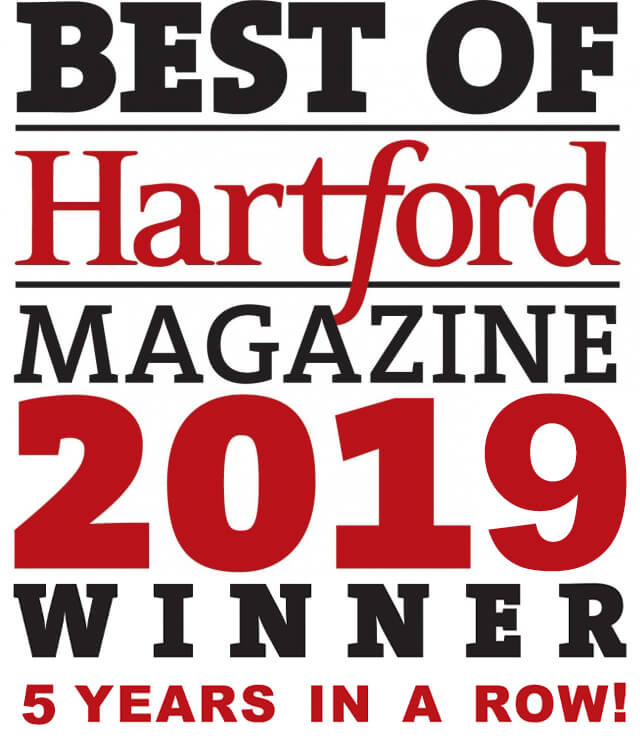 Best of Hartford Magazine Winner 2019